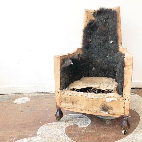 Antique Accent Chair - Antique Accent Chair — Chairloom