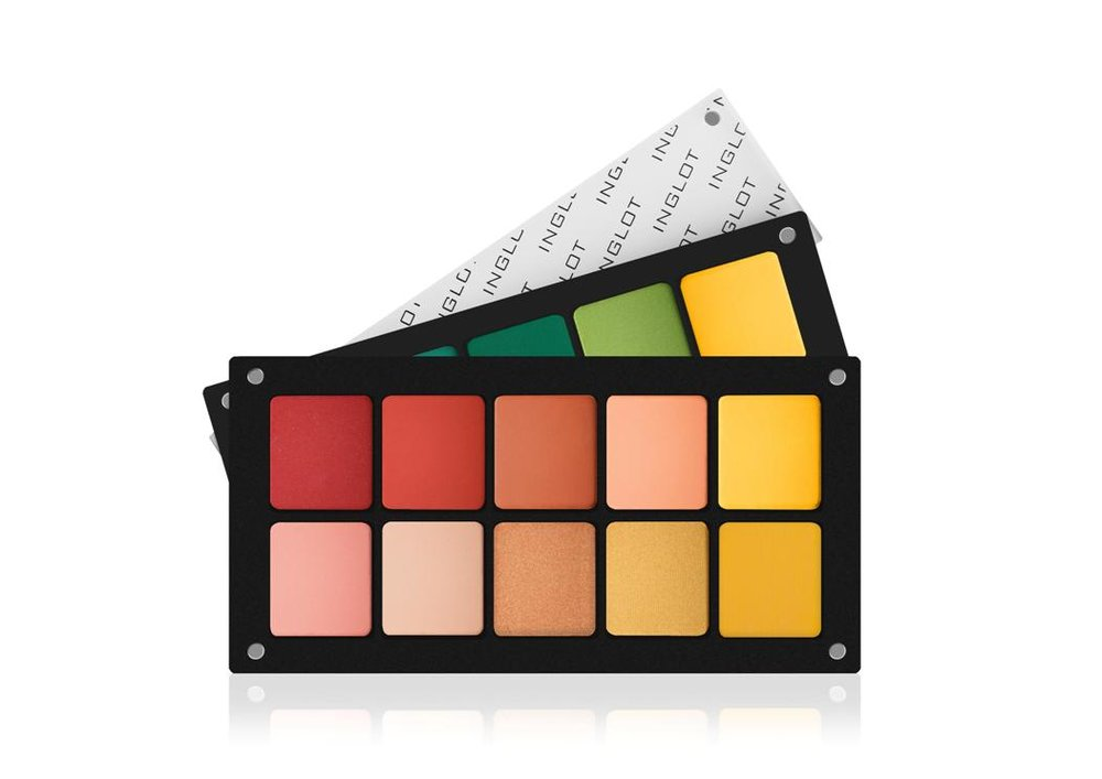 Inglot 10 Square Freedom Palette €55