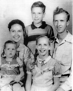John and Ann Rush with their three children: Heath, Pamela and Erica