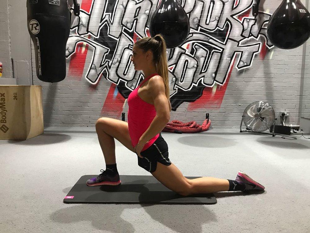 Hip Flexor Stretch - Lean in