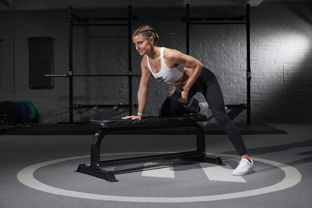 Single arm row | Grace Brown Fitness London
