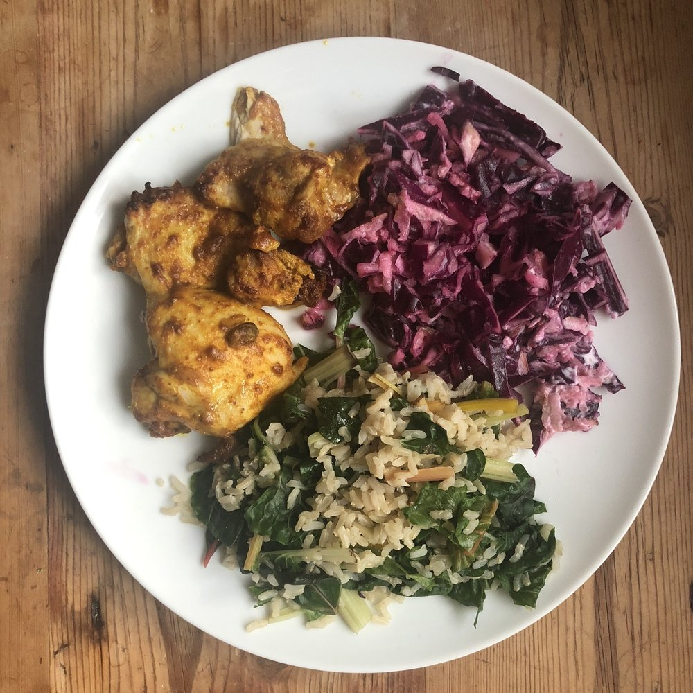 Colours on my plate with Mindful Chef | Grace Brown Fitness London