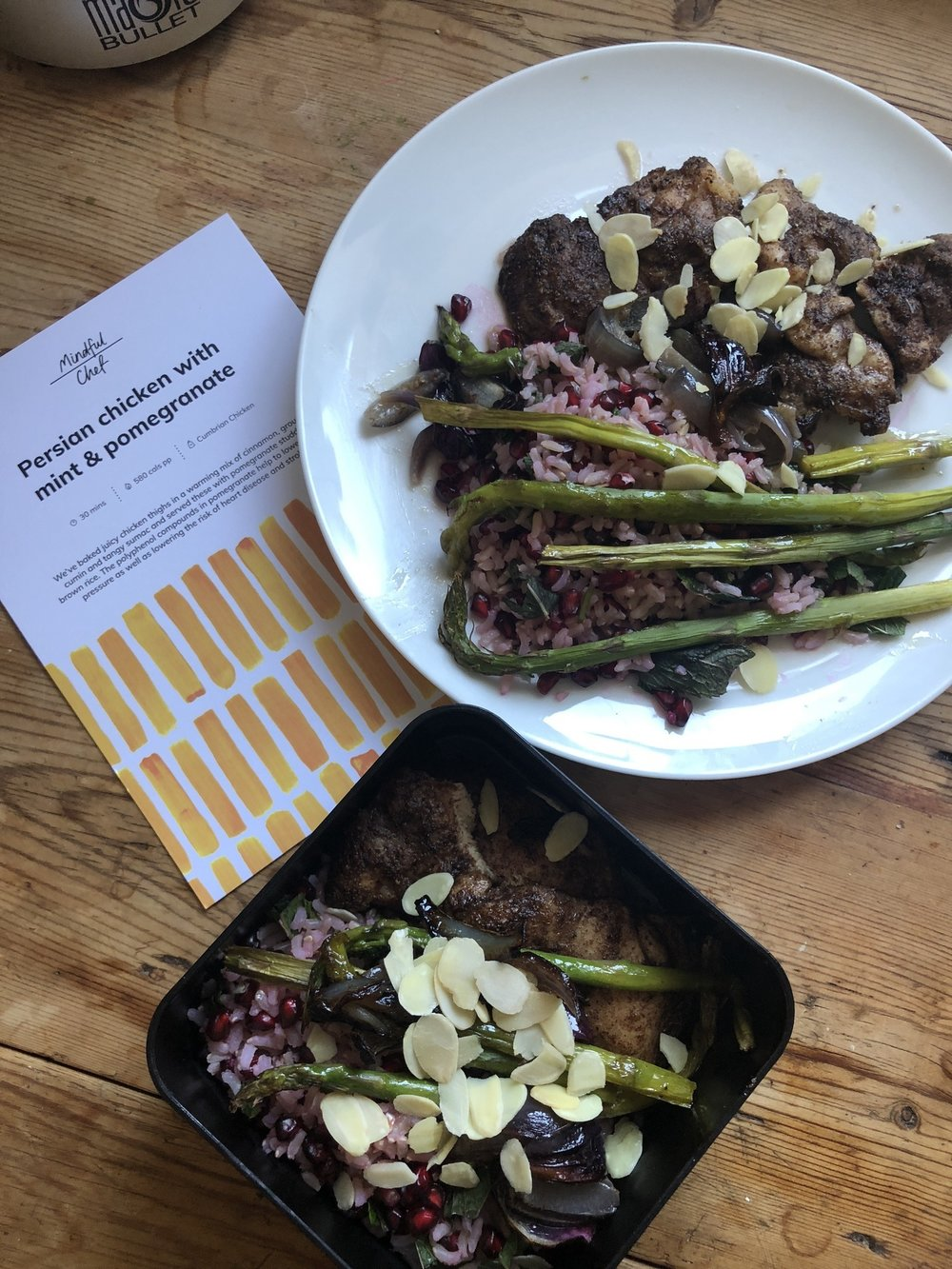Healthy home cooked meals with Mindful Chef | Grace Brown Fitness London