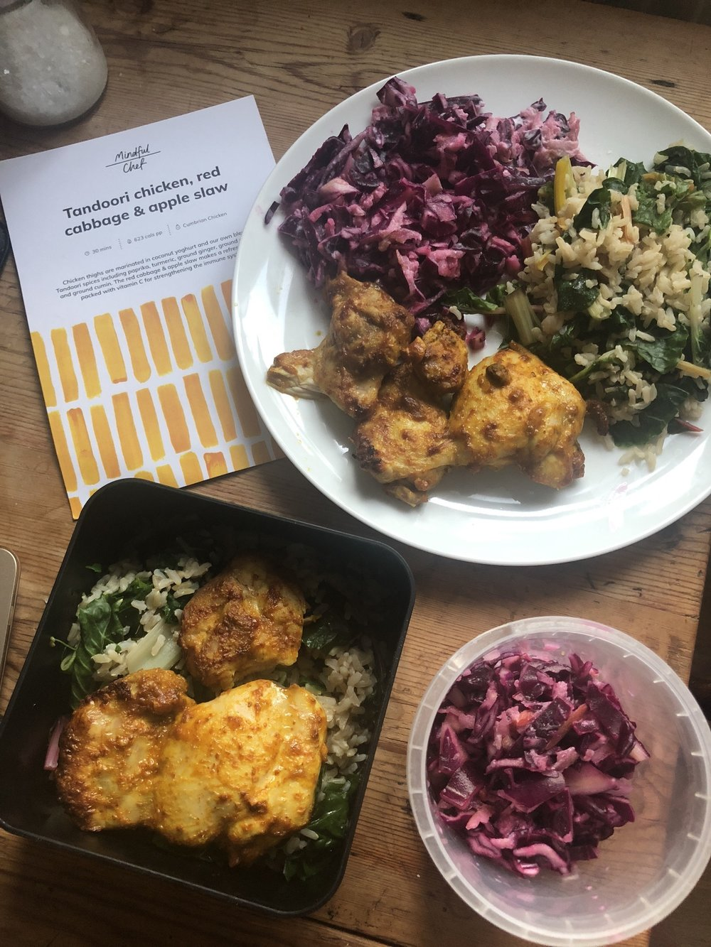 Getting two meals out of one Mindful Chef dish | Grace Brown Fitness London