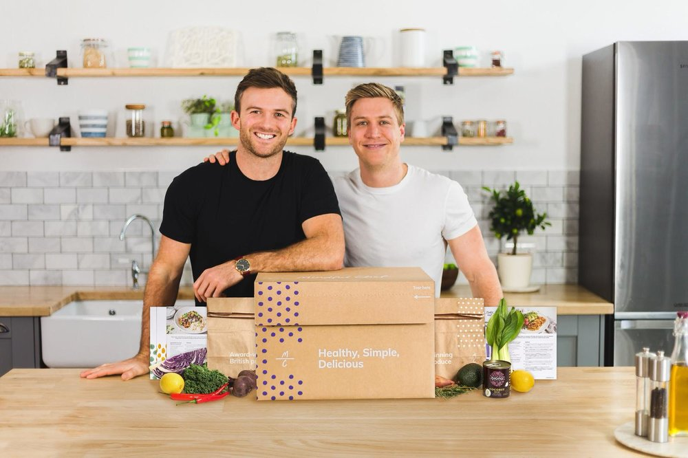 Myles and Giles of Mindful Chef | Grace Brown Fitness London