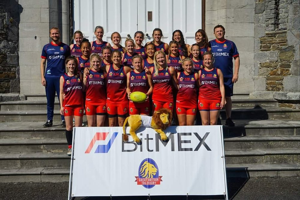 The Women's GB Squad for the Tag Rugby World Cup | Grace Brown Fitness London