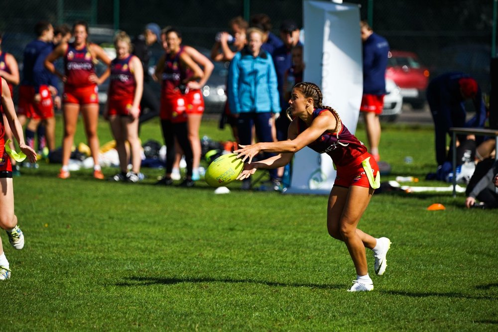 In flight Team GB Tag Rugby | Grace Brown Fitness London