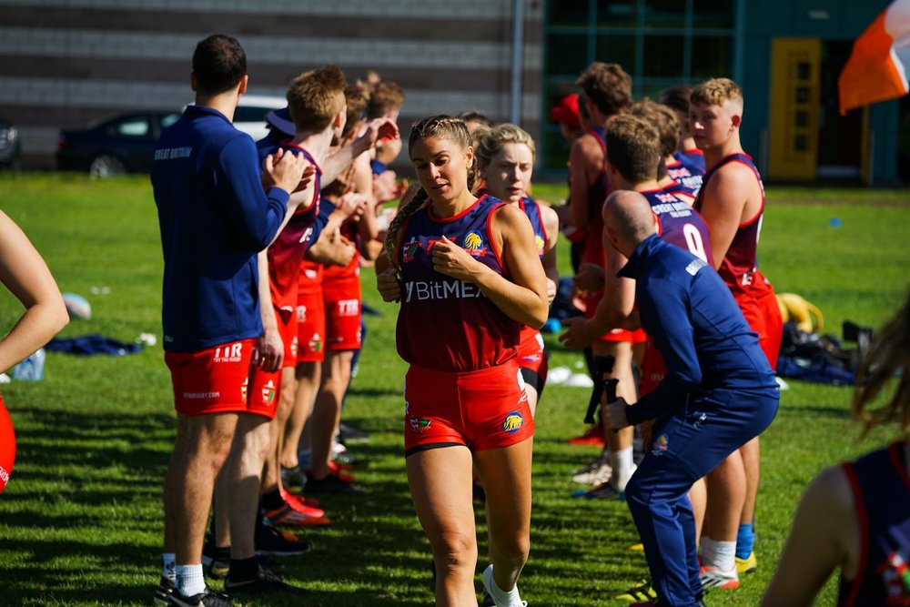 Tunnel! British and Irish Tag Rugby Cup | Grace Brown Fitness London