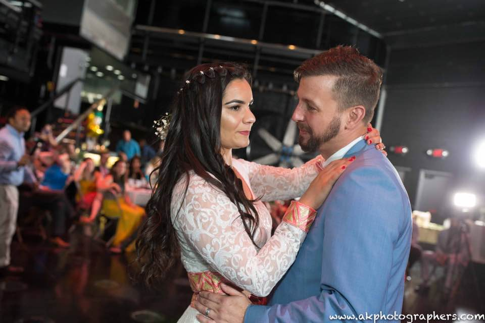 Weddings - Are you looking for that perfect place to have your wedding or wedding reception? With our 1,000 sq. ft. lighted dance floor and our Industrial backdrop, your guests will love the atmosphere from the moment they walk in the door.