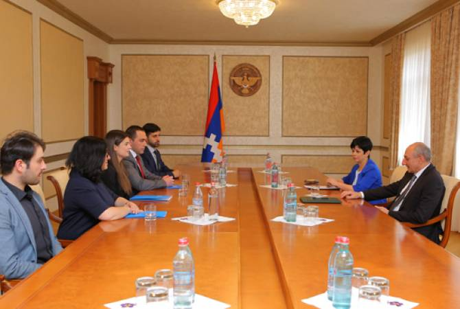 Meeting with the President of Artsakh