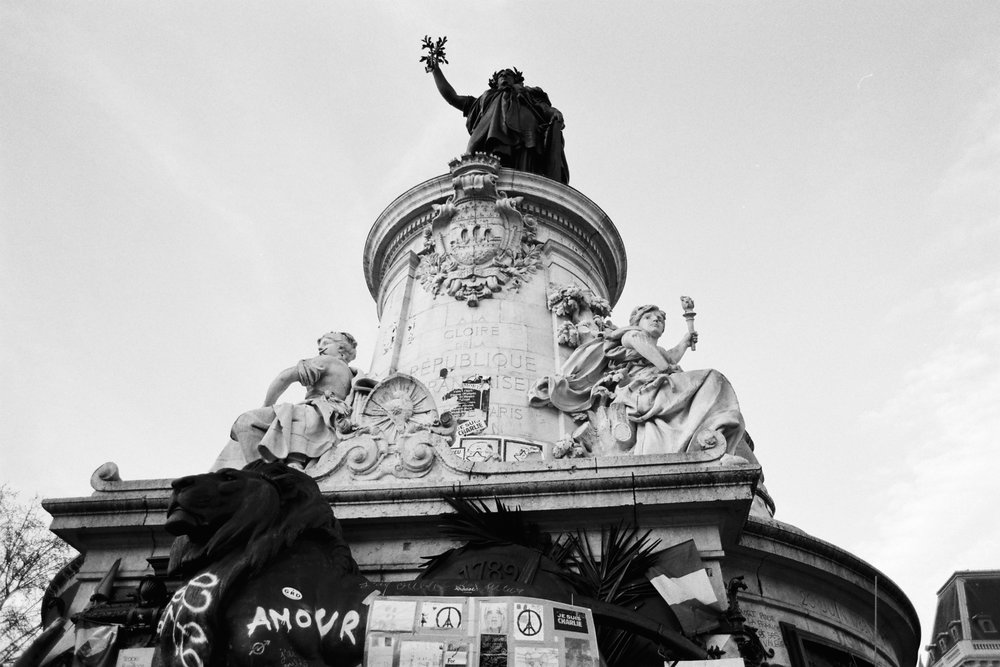 [Place de la république, Paris - April 2016]