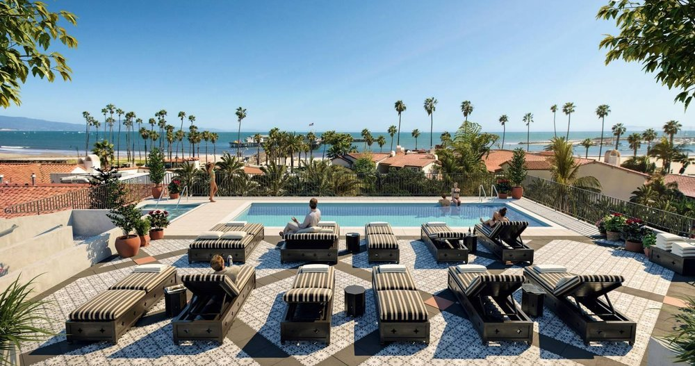 California Dreaming...Rooftop Pool of Hotel Calfornian | Image: Hotel Calfornian