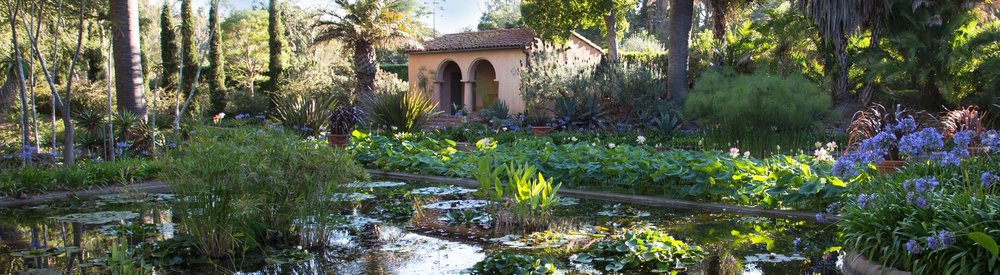 One of Lotus Land's exquisite gardens | Image: www.lotusland.org