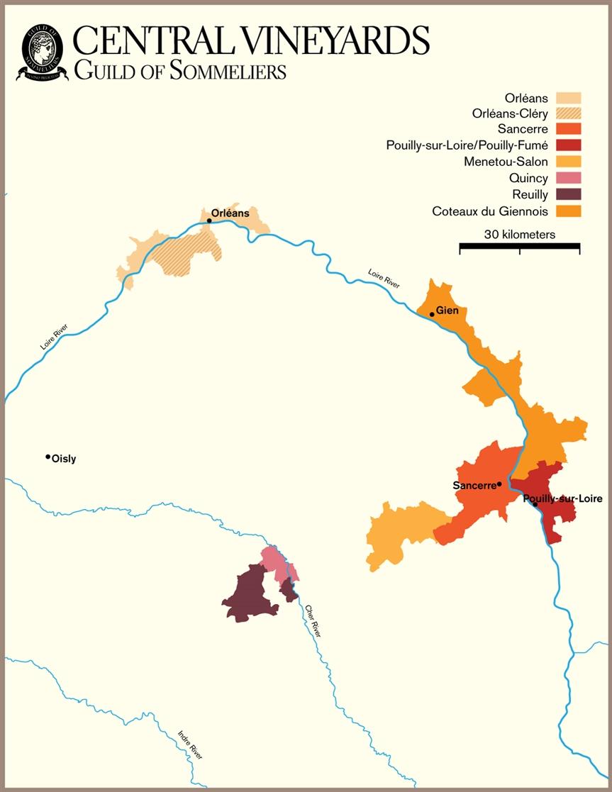 Sancerre France Map.Sancerre France Mcw Wines