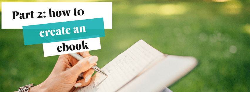 How to create an ebook