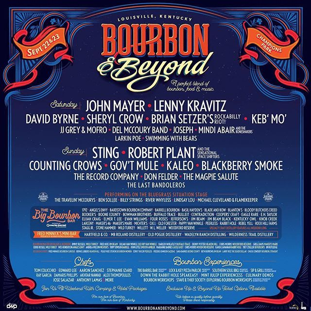 What a lineup! Can't wait for @bourbonandbeyond this year! Howard Hardy House is the place to stay for all of the music/food/bourbon festivals Louisville has to offer!! #Repost @bourbonandbeyond ・・・ A perfect blend of bourbon, food, & music is returning to Louisville for the second year.  We are proud to welcome to the #BourbonAndBeyond stages @theofficialSting, @JohnMayer, @robertplantofficial and the Sensational Space Shifters, @LennyKravitz, and many more.  Featuring the highly anticipated return of the Big Bourbon Bar presented by Courier Journal, Fred Minnick's Mini-Bar presented by the Bourbon Women Association, culinary experience, specialty bars, bourbon workshops, and more!  Tickets go on sale April 20th at 12pm est at bourbonandbeyond.com 🥃