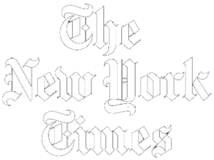New York Times logo. Link to review of Wm. Farmer & Sons.