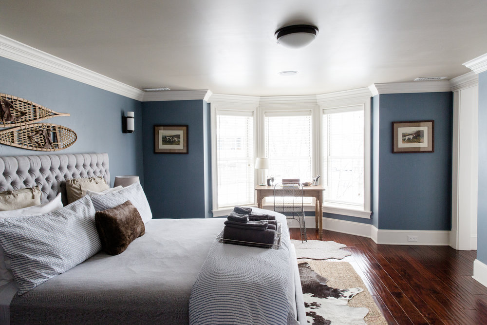 """""""The Chandler"""" in the Merchant House - Bedroom"""