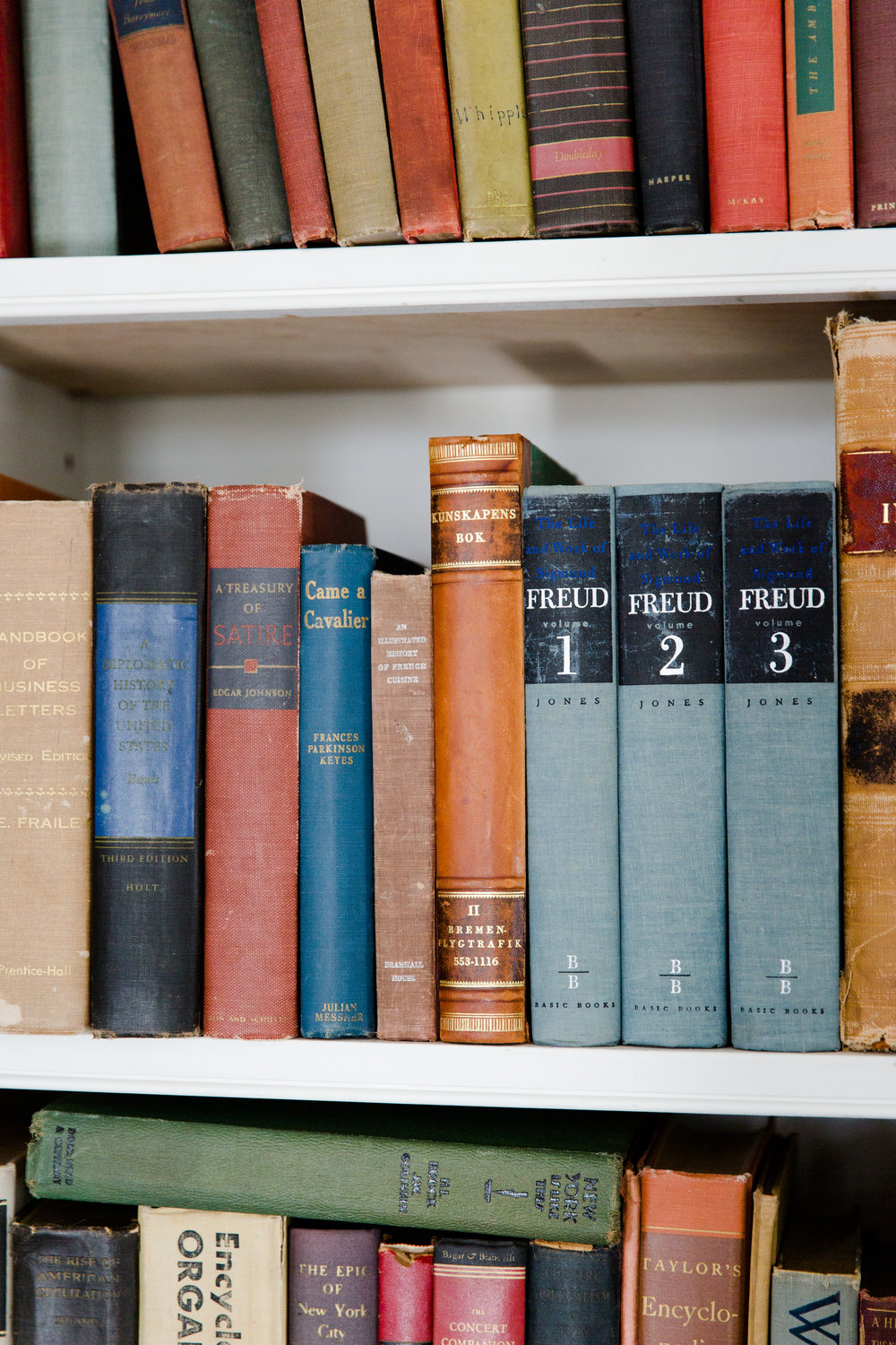 The Merchant House book collection