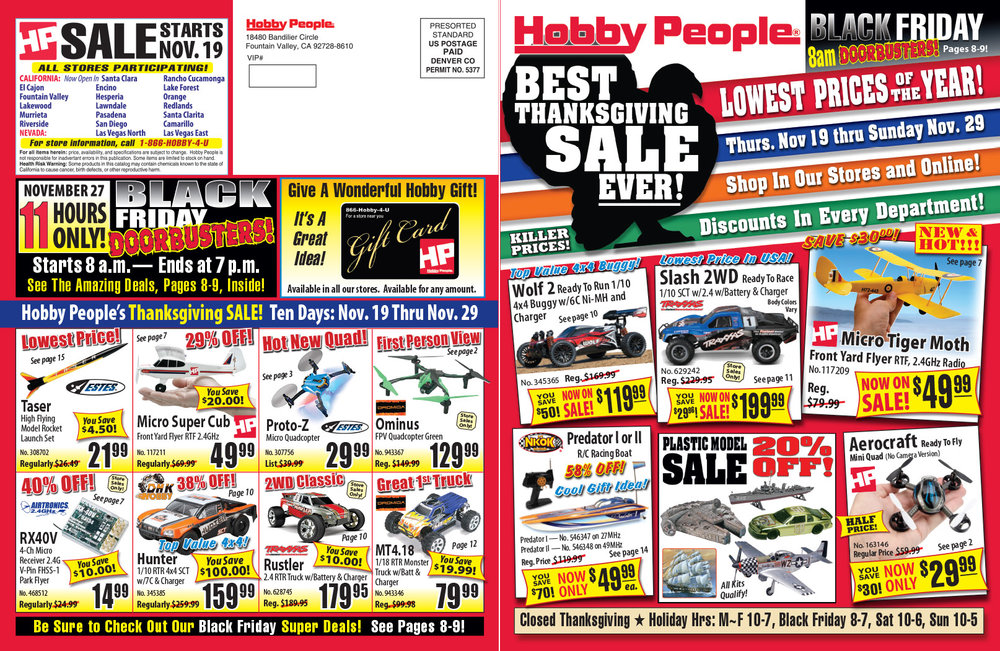 16 page sale fliers forrey design