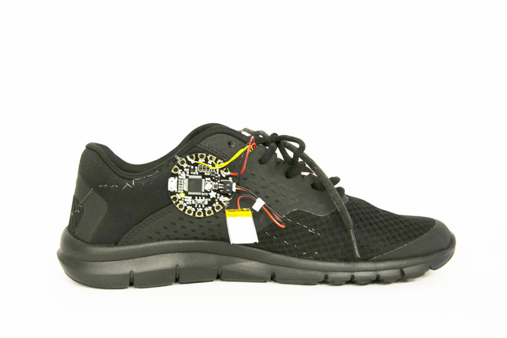 LiTT Workshop - Biometric Shoe Prototype