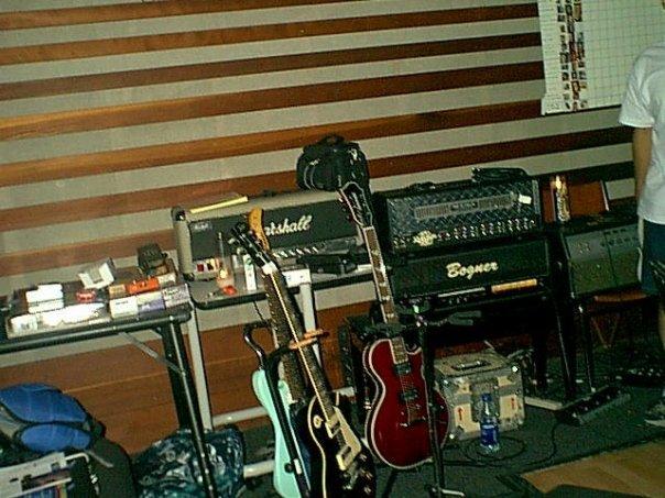 QBO guitars at Can Am Studios.