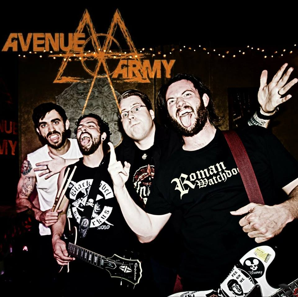 Avenue Army - Hailing from San Diego, CA, Avenue Army is a great power pop/rock band with CATCHY songs and great live show.