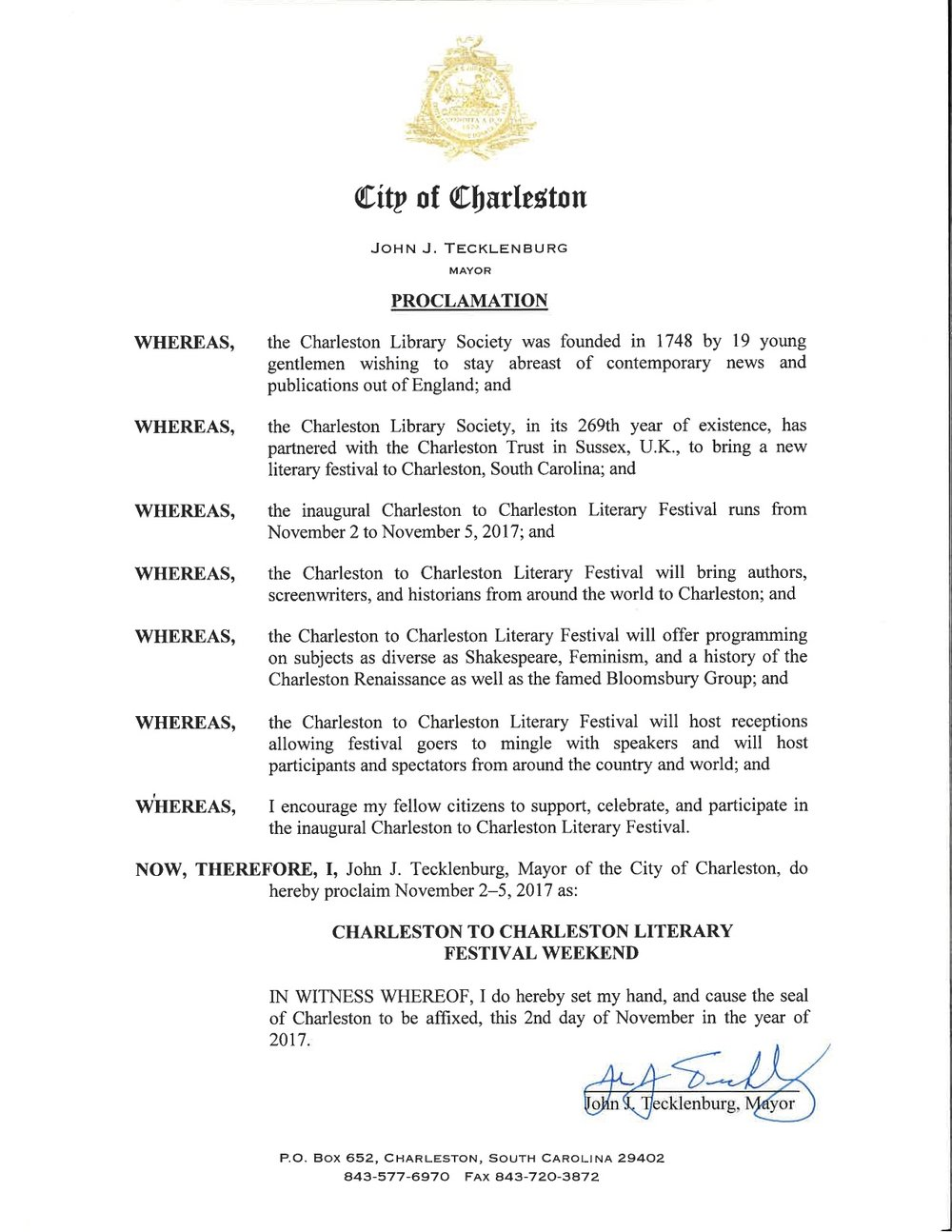 C2C Mayoral Proclamation.jpg