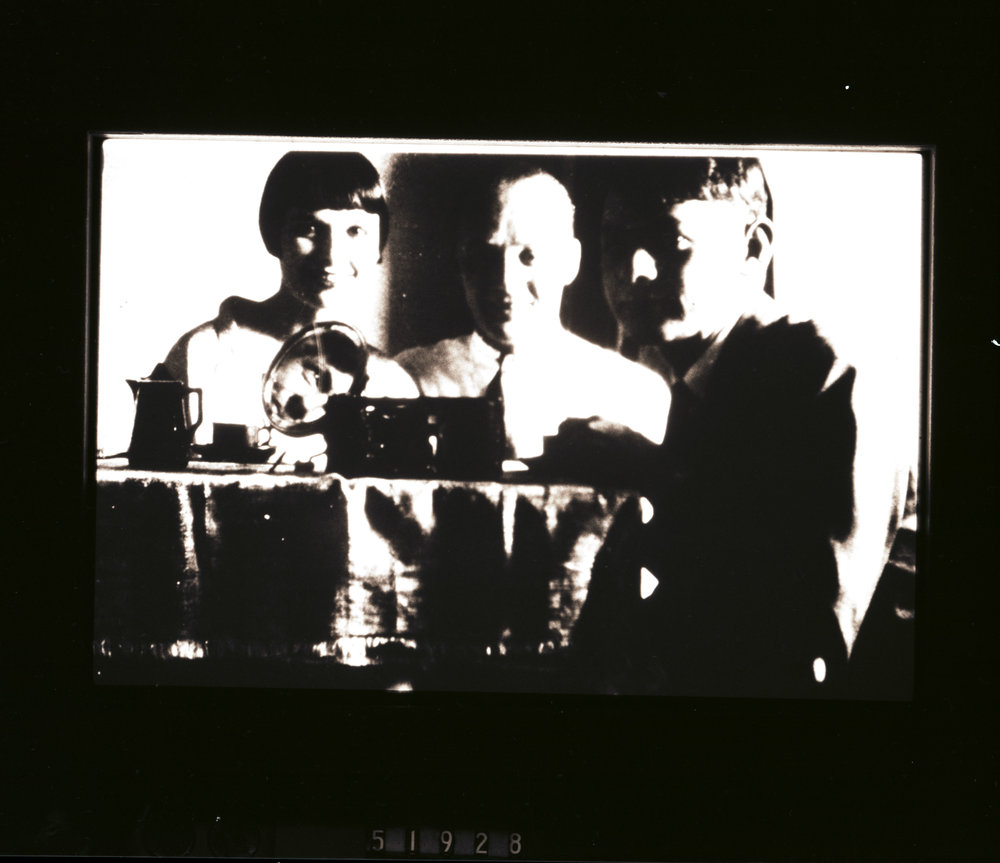 "From left to right, Louise Brooks, ""The Eskimo,"" and Lothar Wolff, image derived from an original negative given to us by author Tom Graves"