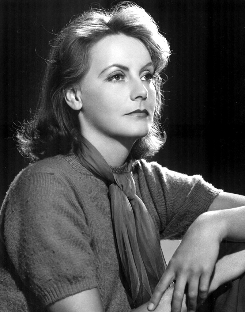 Garbo in a publicity still for  Ninotchka (1939)