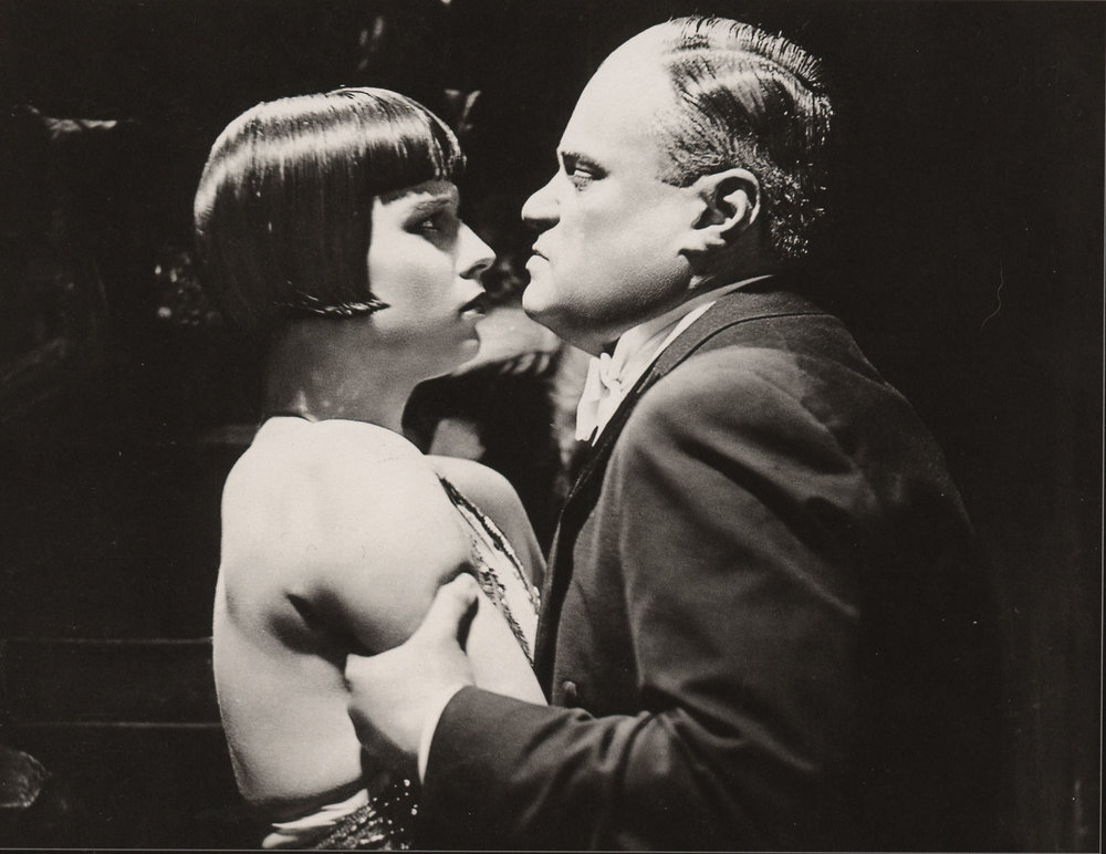 Louise Brooks and Fritz Kortner in  Pandora's Box (1929)