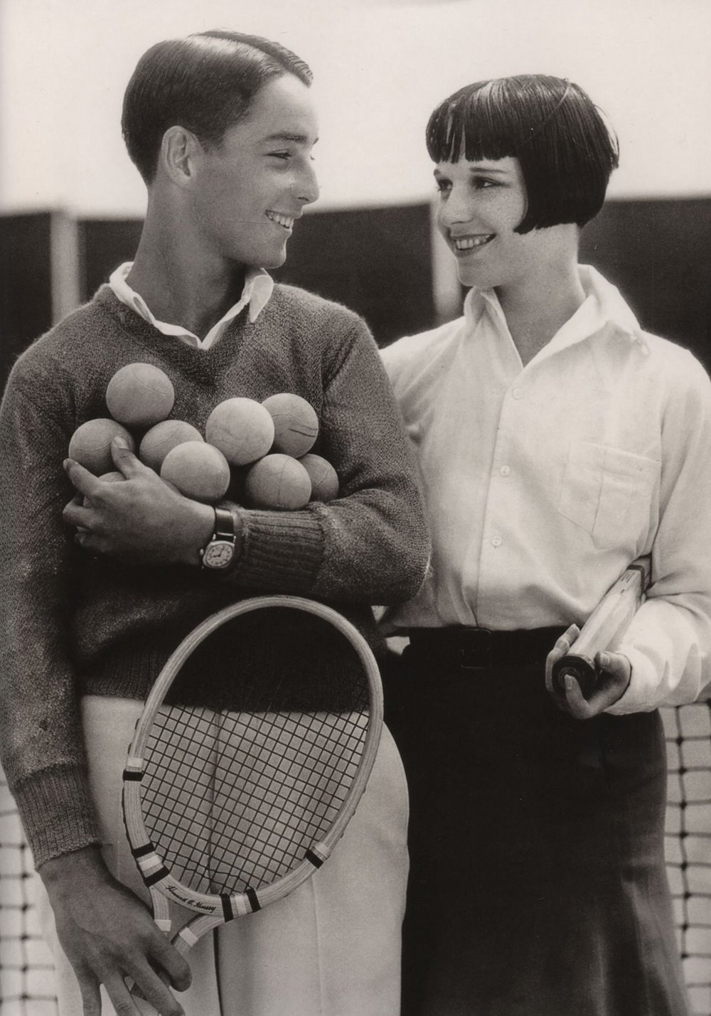 Theo and Louise in California, 1928