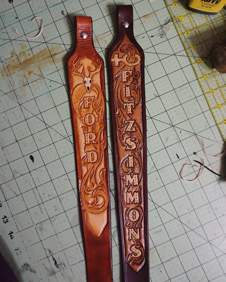 Custom Rifle Straps