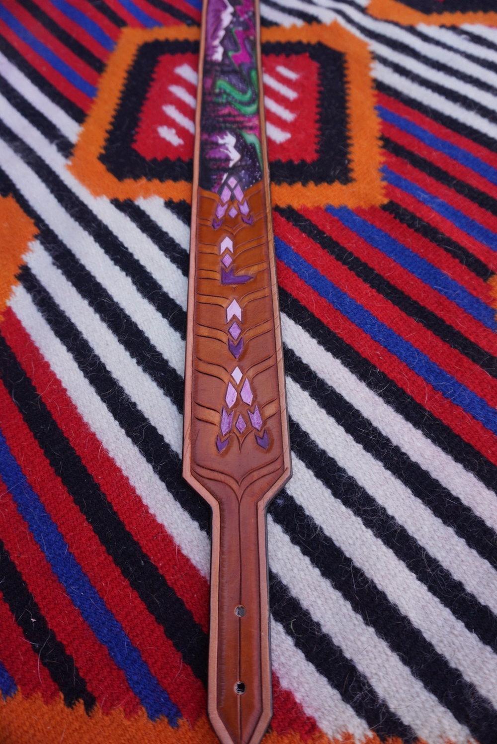 Custom Alaskan Guitar Strap