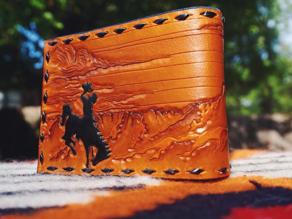 Custom Wyoming Wallet