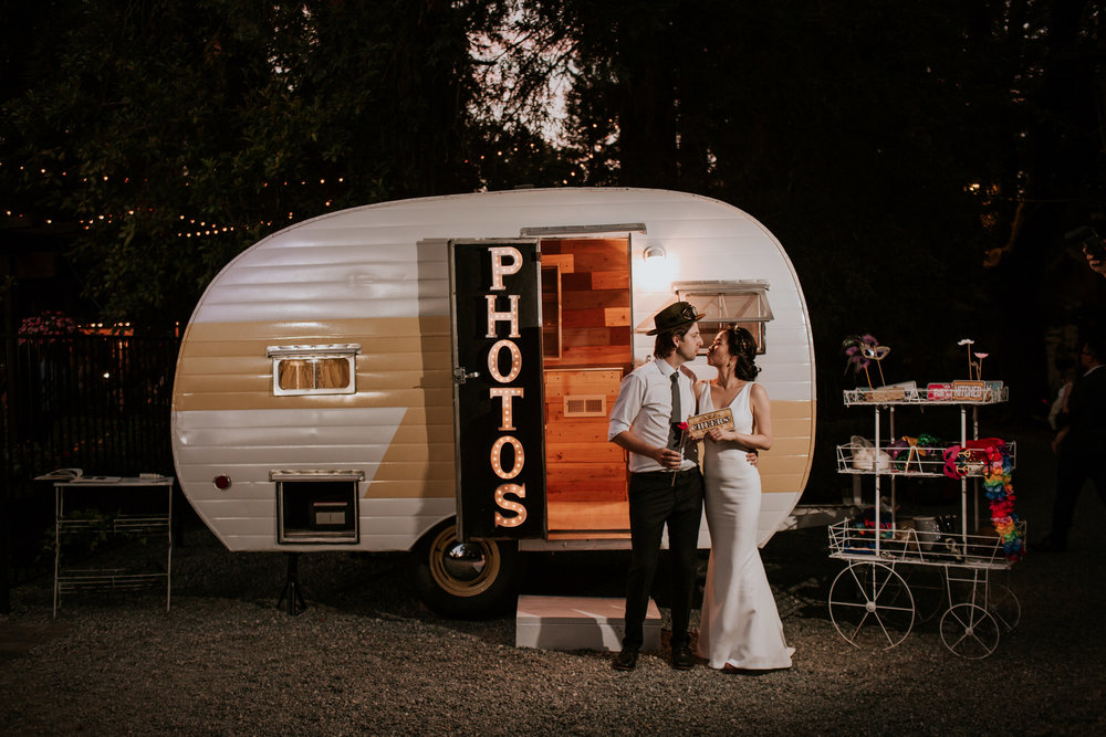 Vintage Camper Photo Booth | Sacramento | Bay Area | Sonoma | Tahoe