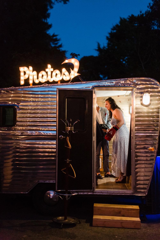 Vintage Trailer Photo Booth - Bay Area Wedding