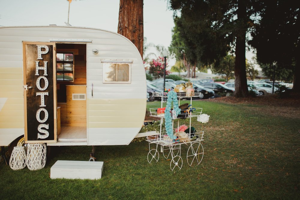 Vintage Camper Photo Booth - Santa Clara, Ca