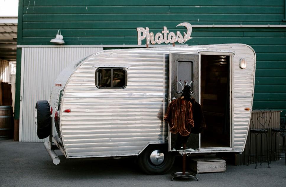 Hugo The Vintage Camper Photo Booth in Sacramento
