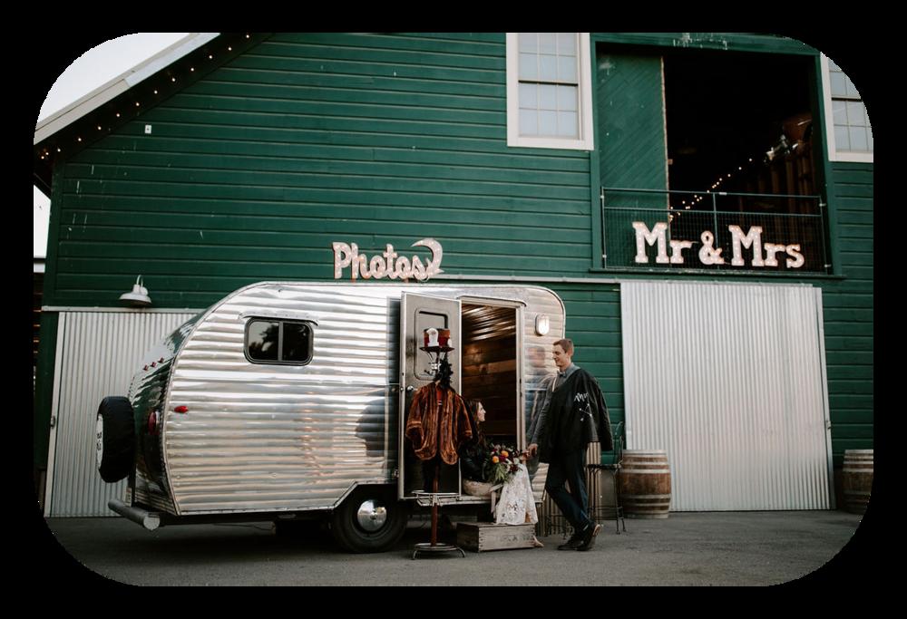 Vintage Trailer Photo Booth - Northern California - Sacramento - Sonoma
