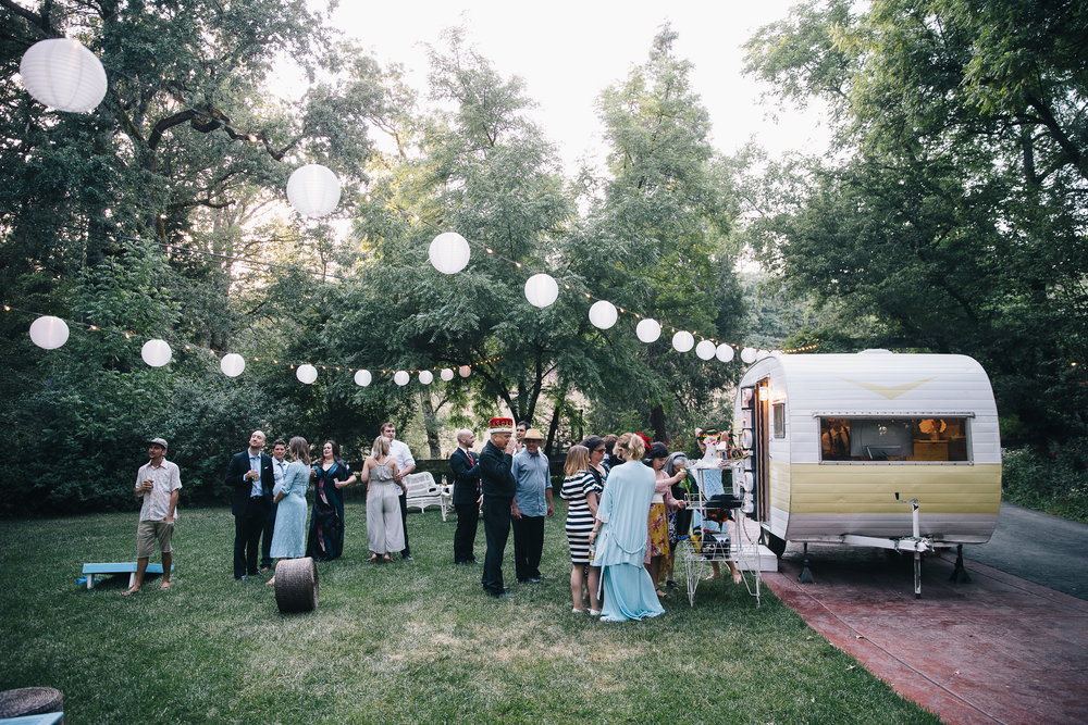 Vintage Trailer Photo Booth