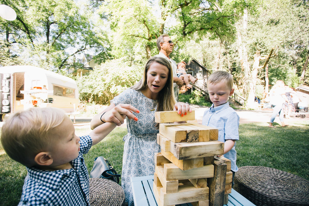 Wedding Lawn Game - Jenga