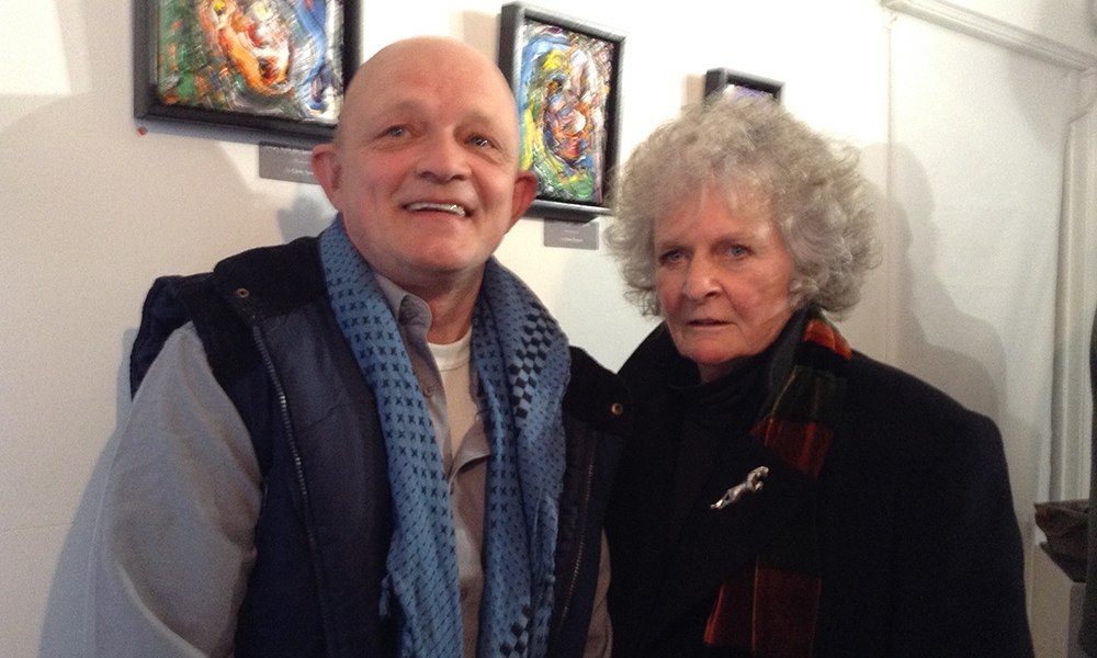 Chris Newson & Maggi Hambling.jpg