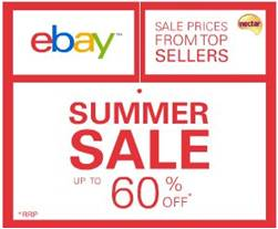 Ebay Summer Sale