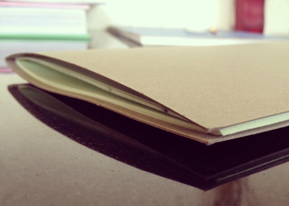 Book binding stitching