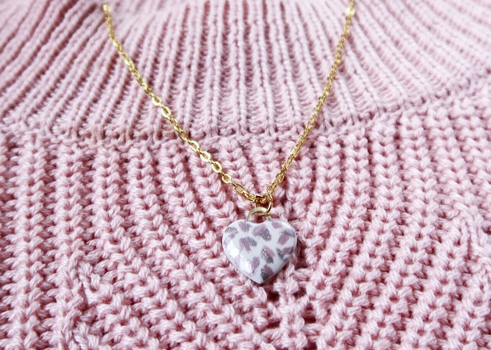 Repurposed Lindt Heart Charm by Isoscella
