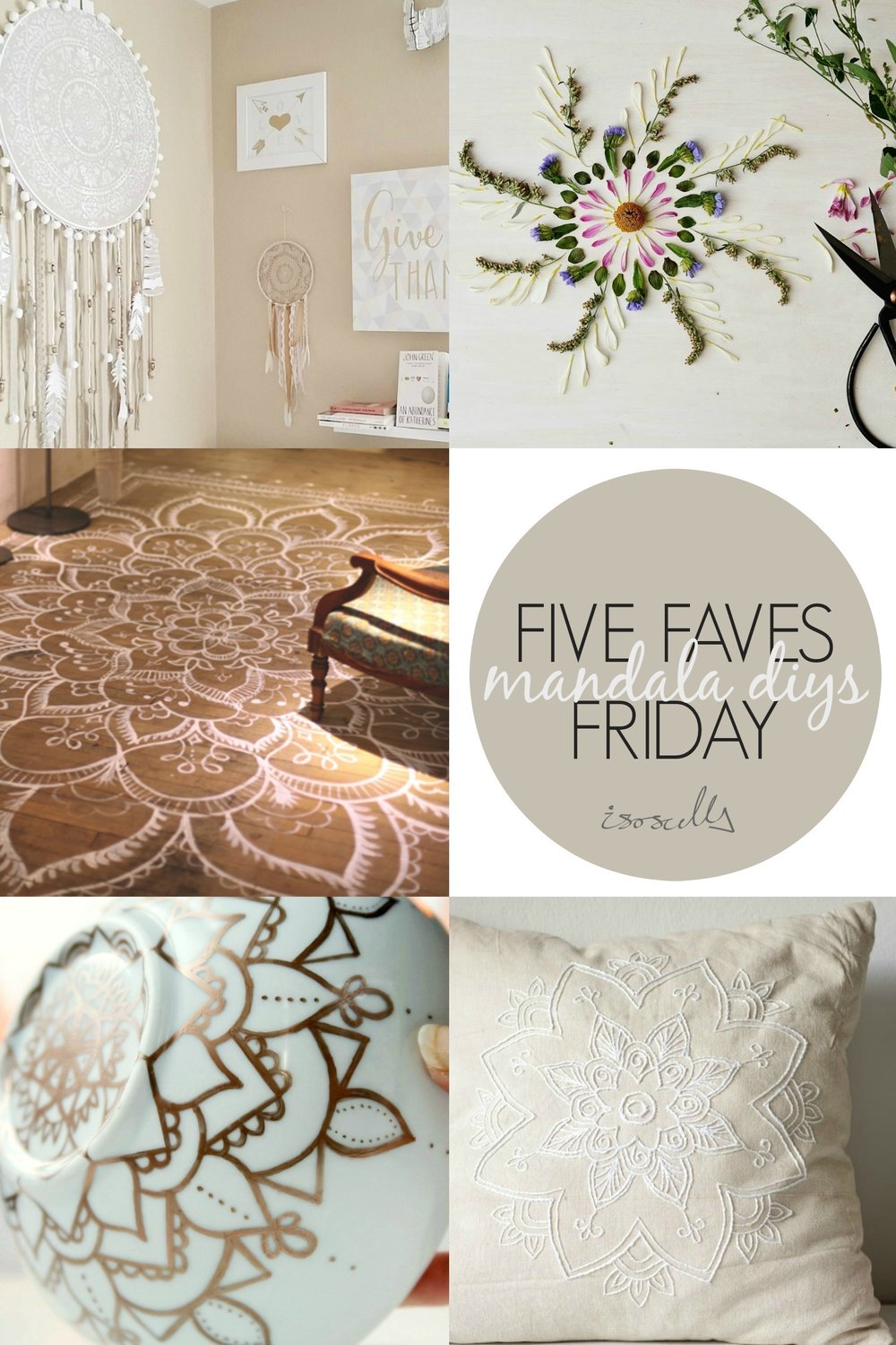 Five Faves Friday Mandala DIYs
