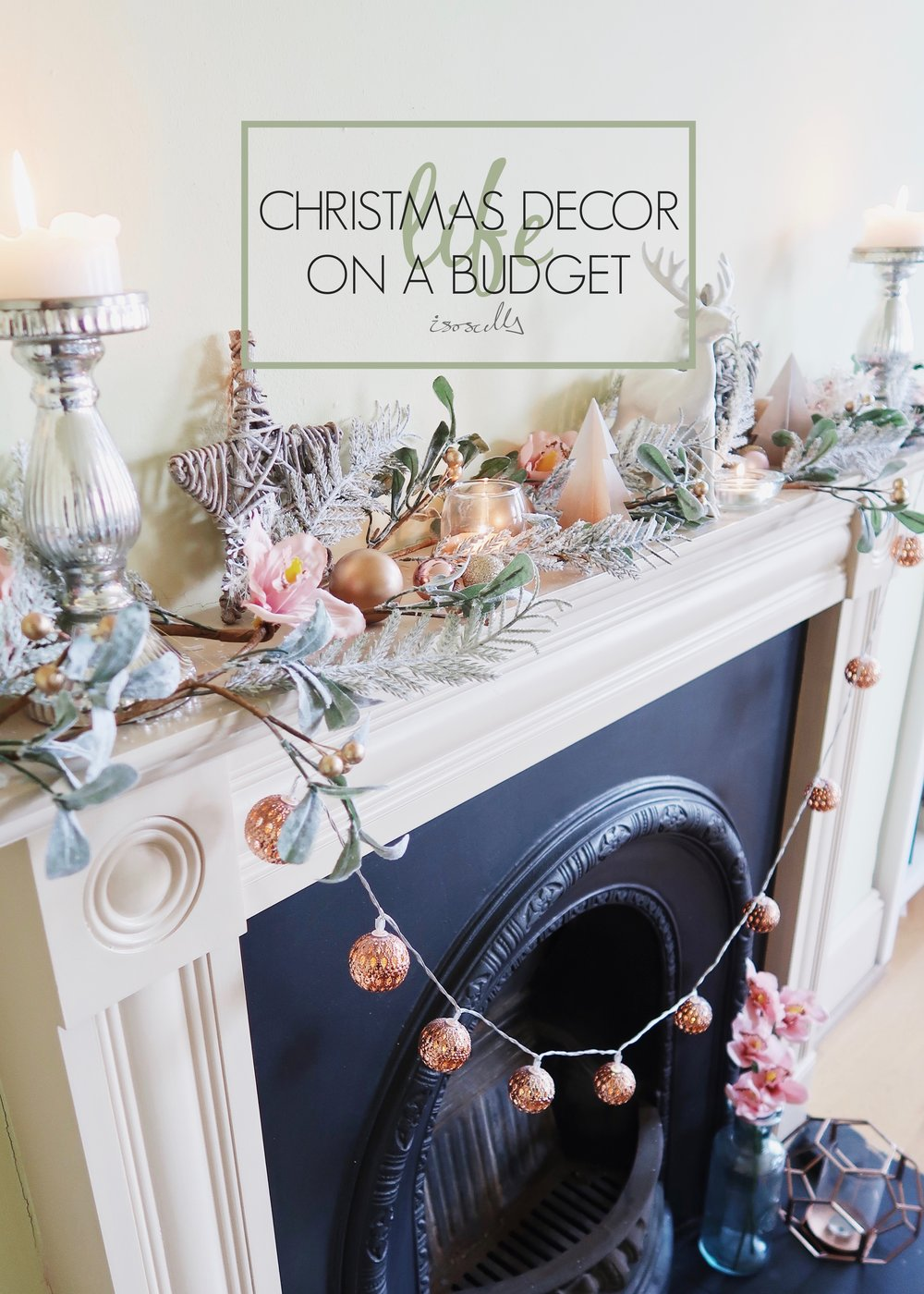 Christmas Decor on a Budget by Isoscella
