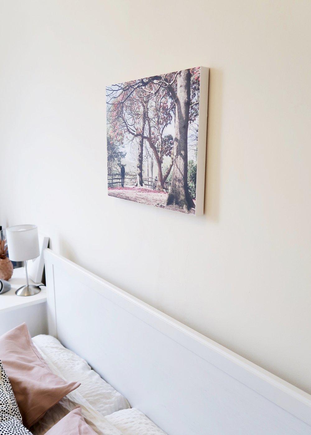 DIY Custom Canvas Print with Photowall by Isoscella