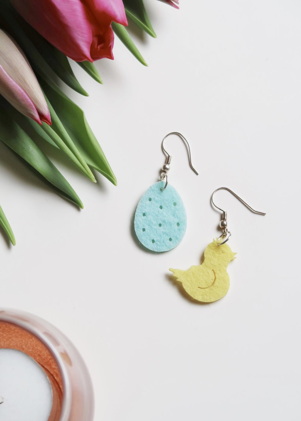 5 Minute DIY - Easter Confetti Earrings - Isoscella